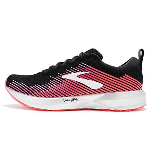 Brooks Womens Levitate Running Shoe (Black/Pink/Almond,...