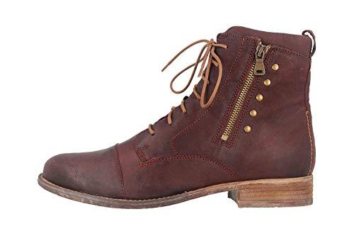 Josef Seibel Sienna 30 Stiefel Bordeaux 99630 MI720 410 Damenschuhe, Größe:44
