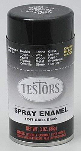 testors paint black flat - 9
