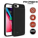 AKASHI TECHNOLOGY - Coque Batterie iPhone Se 2020, Coque Batterie iPhone 8, Coque iPhone 7, Coque iPhone 6S / 6, Antichoc avec Batterie intégrée 3000 mAh