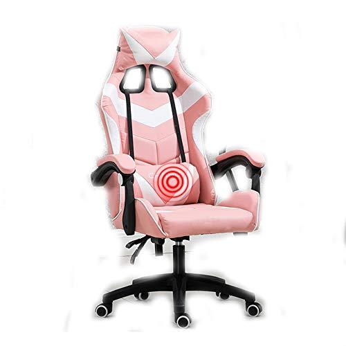 Gaming Chair BLTLYX Gaming Gamer Chair Bureaustoel Bureaustoel Stoel Synthetisch leer met leuningen Zoals afgebeeld 5