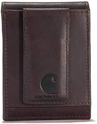 Carhartt Men s Standard Front Pocket Wallet Oil Tan Brown One Size product image