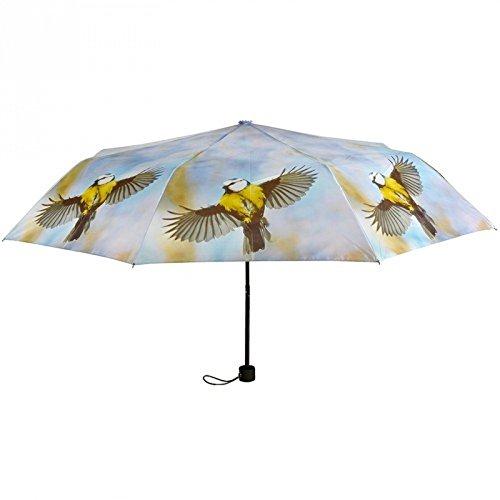Esschert TP151 Blaumeise vogel zakparaplu nieuw