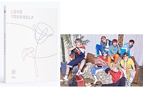 BTS KPOP Love Yourself Her (V Version) Album Bangtan Boys...