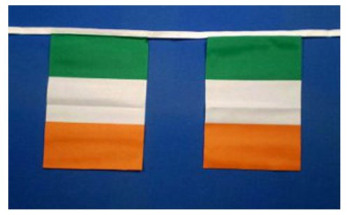 Irlande fanions 9metres/30 m - 30 fanions