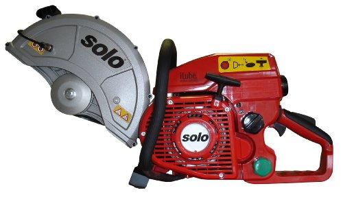 Solo 881-14 iLube 81cc Cut Off Saw, Accepts a 14-Inch Cutting Wheel  for Concrete, Steel, Asphalt, Cast Iron or Stone