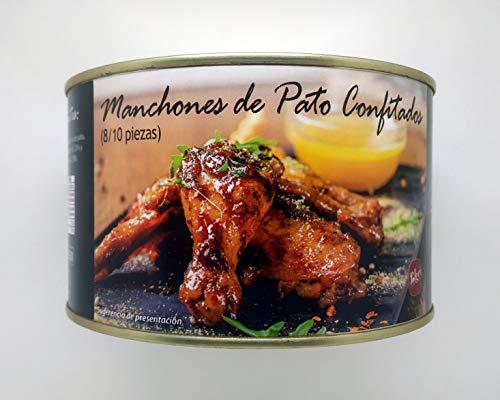 Polgri - Confit de Pato   8/10 Manchones de Pato Confitados   Lata Circular 1350 grs