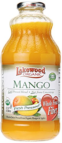 Lakewood Juice Mango Organic, 32 oz