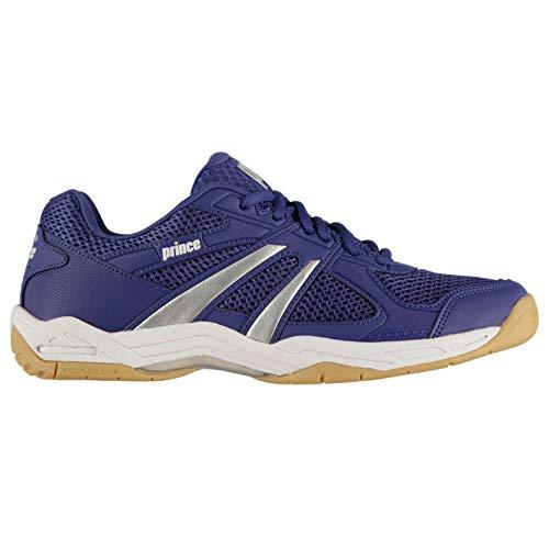 Prince Turbo Pro Hombre Zapatillas Deportivas De Squash Azul...