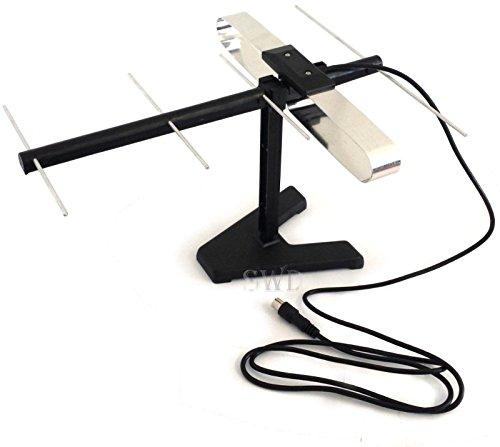 Generic QY-UK4-16FEB-20-2269 *1**4219** Antena de TV digital portátil pequeña P pequeña para interior o hogar, autocaravana, furgoneta o autocaravana