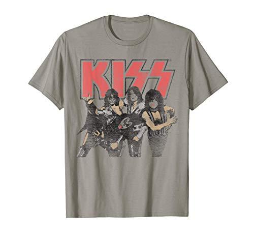KISS - Shout it Out Loud Portrait Camiseta