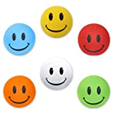 HappyBalls Assorted Happy Smiley Face Car Antenna Toppers/Antenna Balls/Rear View Mirror Danglers/Auto...