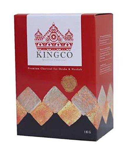 KINGCO 1kg  シーシャ用 ココナツ炭