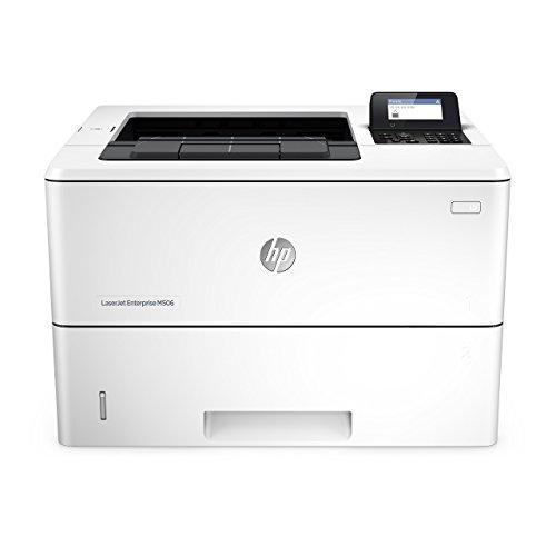 HP LaserJet Enterprise M506dn Laser Printer with Built-in Ethernet & Duplex Printing (F2A69A) (Renewed)