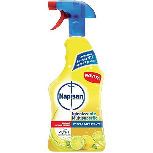 DC CASA napisan Spray Igienizzante Multisuperfici Potere Sgrassante, rimuove germi e batteri 750 ml.