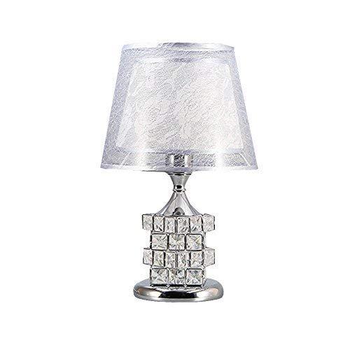 Lámparas de mesa, personalidad Lámpara de noche de lujo moderna moderna moderna, lámpara de cristal, lámparas de mesa, ideas de decoración de boda lámpara de dormitorio acogedor, luz de noche | Código