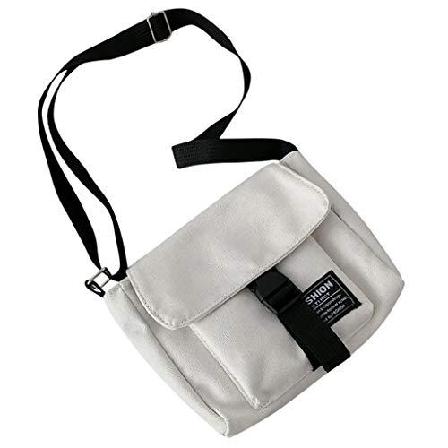 Umhängetasche Damentasche kleine Schultertasche Mini Tasche Messenger Bag Handy Urlaub Reise Ausflug Spaziergang und Wandern Gelb Schwarz Weiß für Arbeit Shopper Lässige täglich