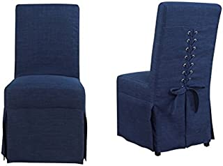 Picket House Furnishings Hayden Dining Chair in Blue (Set of 2)