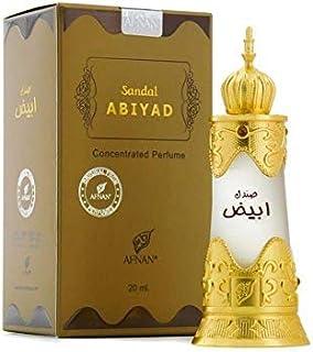 Afnan Sandal Abiyadh Concentrated Perfume Oil for Unisex 20ml