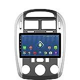 Radio Android 8.1 GPS Navegación Radio TV, pantalla táctil de 9 pulgadas, para Kia Cerato 2008 – 2012, con control de volante DAB, Bluetooth, USB, SD, AUX, Mirror Link, WiFi + 4 G: 2 + 32 G opcion2