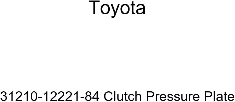TOYOTA 31210-12221-84 Clutch Max 79% OFF Pressure Plate Latest item