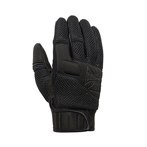 WEST COAST CHOPPERS Herren Handschuhe Statement Neoprene Glove, Größe:L, Farbe:black