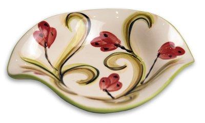 "Gail Pittman Honeysuckle 6"" Double Sided Spoonrest -  Gail Pittman Designs"