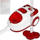 TW24 Kinder Spielzeug Staubsauger mit Saugfunktion Kinderstaubsauger inkl Styroporkügelchen Haushaltsgeräte