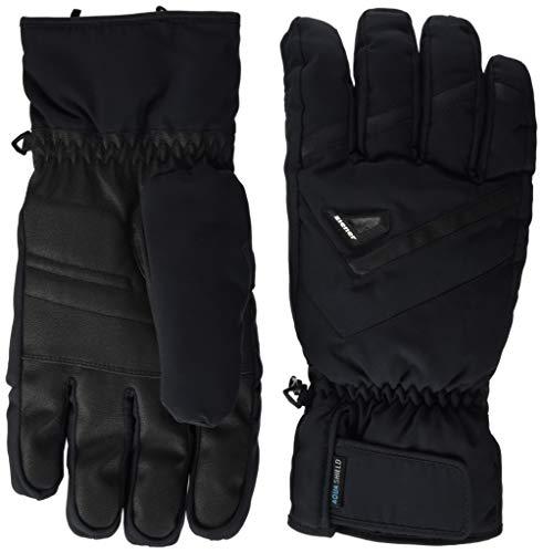 Ziener Herren GARY AS glove ski alpine Ski-handschuhe / Wintersport | wasserdicht, atmungsaktiv, schwarz (black), 9