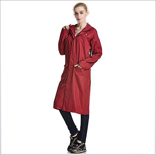 Pessica Draagbare regenjas voor volwassenen, paardrijden, comfortabel, waterdicht, draagbaar, gebruikt voor fietsen, uitgaan, wandelen, enz.