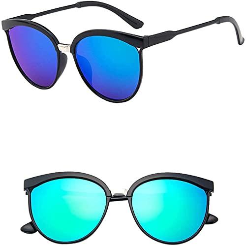 OverstepA Occhiali da Sole polarizzati con riflesso Anti-ultravioletto per Donne e Uomini Montature Leggere Occhiali da Sole policromatici UV400