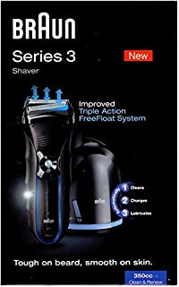 Braun Series 3 Triple Action Float System Shaver (Model 350CC)