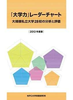 [阿部 功, 星加 吉廣]の「大学力」レーダーチャート ~大規模私立大学28校の分析と評価~