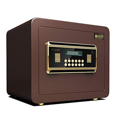 LIUYUNQ Safe, Digital-elektronischer Safe For Home Office 30cm Mit 2 Notfall Keys, An Der Wand Befestigten Schrank Safe Security Box Anti-Diebstahl-intelligente Alarmanlage Feuersicher abschließbare A