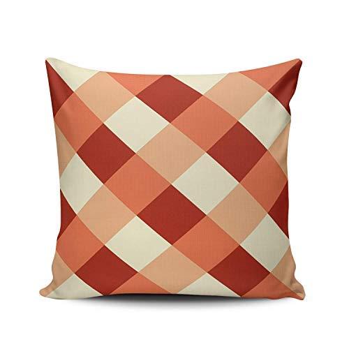 Funda de almohada de moda personalizada para decoración del hogar, color menta, turquesa y turquesa buena vibra, funda de cojín cuadrada de 45,7 x 45,7 cm, impresión de una cara, 45,7 x 45,7 cm