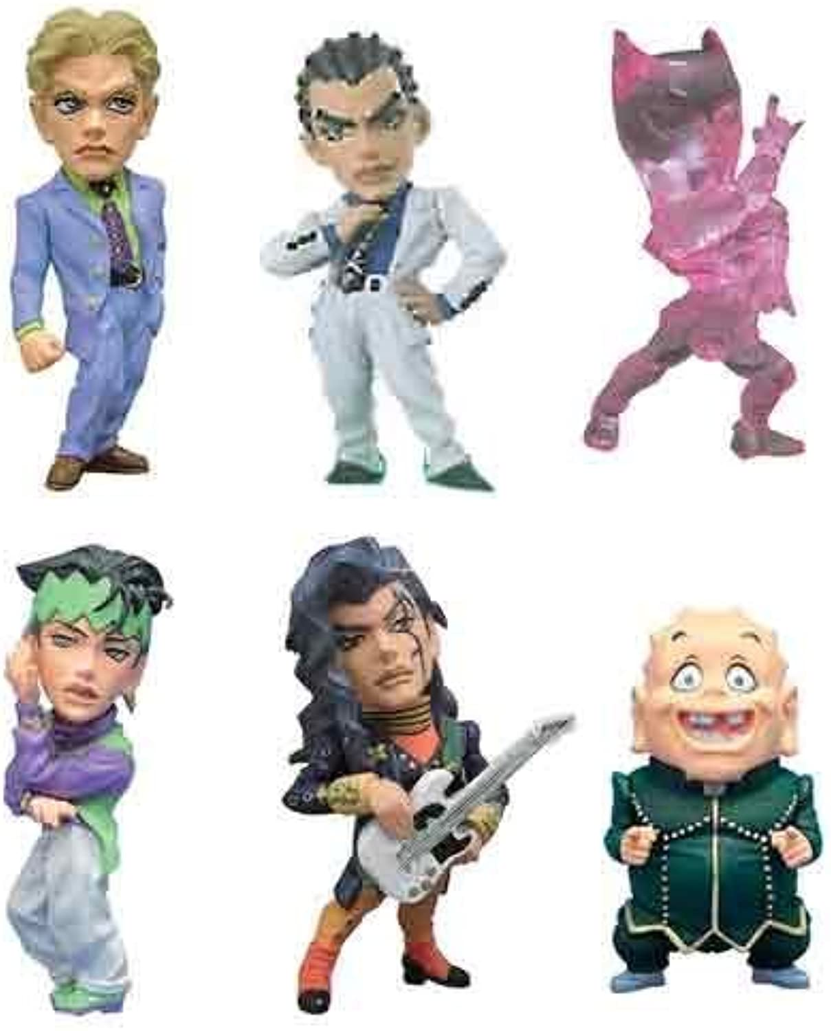 JoJo's Bizarre Adventure Diamond World Collectible figure vol.2 all six sets that do not crumble