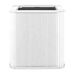 Replacement filter for the Blue 221 Air Purifier. HEPASilent Technology removes 99.97% of airborne particles, down to 0.1 microns in size. 100% recyclable filter. 6-month filter life. Filter fibers naturally prevent bacteria and mold growth.