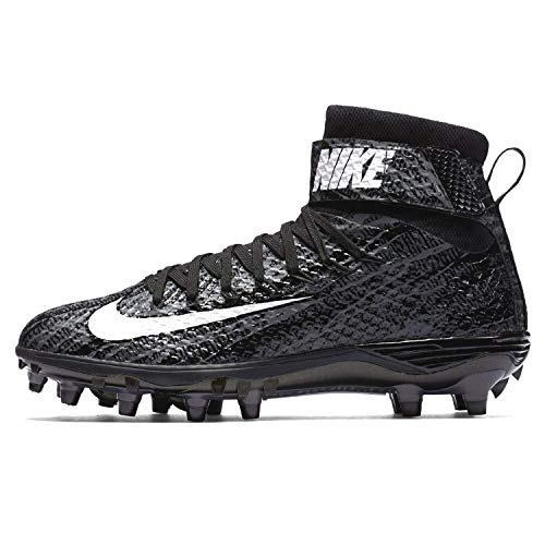 Nike Mens Lunarbeast Elite Ground Quake Football Cleat (11 D(M) US, Black/Grey/Anthracite)