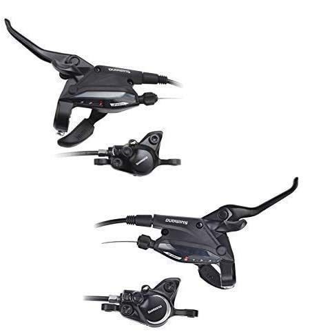 EF505/MT200 Shimano Cambios 3-Fach L, 9X R Negro