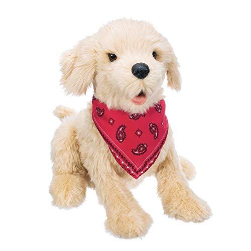 Joy for All Robotic Sitting Golden Dog - Stuffed...