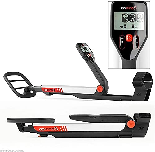 Minelab GO-FIND 20 Metal Detector with Waterproof Coil, Carry Bag and Batteries