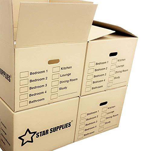 Star Supplies 10 Large Cardboard...