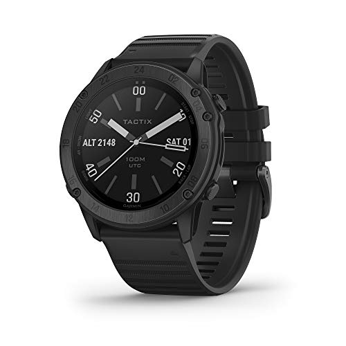 Garmin tactix Delta, Premium GPS Smartwatch with Specialized Tactical Features, Designed to Meet Military Standards, Model: