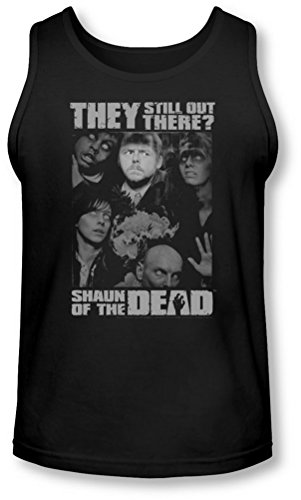 Shaun Of The Dead - - Hommes toujours là Tank-Top, X-Large, Black