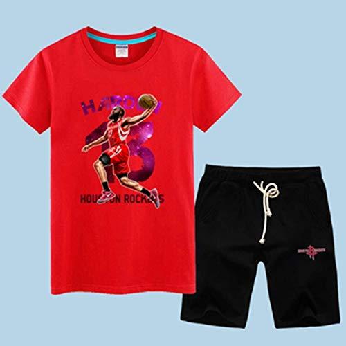 LLSDLS Camiseta de Baloncesto de la NBA Hombre Conjunto de Manga Corta...