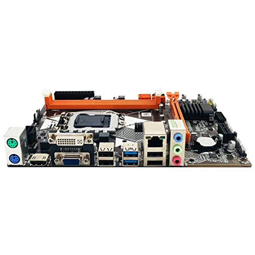 B85 LGA1150 para Placa Base con Intel Core I7 / i5 / i3 / Pentium/Celeron Black