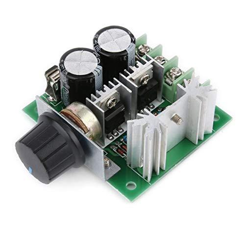 DDyna Universal 12V-40V 10A 13khz Modulación de Ancho de Pulso PWM DC Motor Regulador de Velocidad Controlador Interruptor Negro - Negro