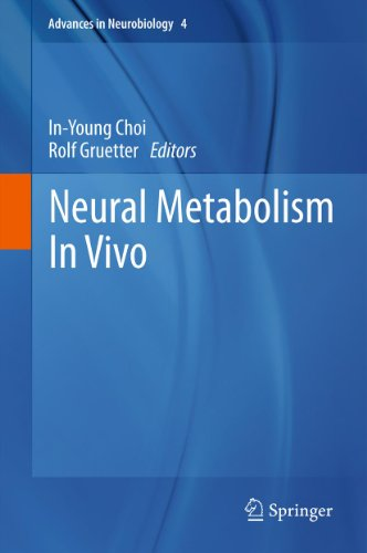 Neural Metabolism In Vivo (Advances in Neurobiology Book 4)