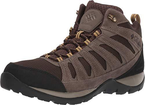 Columbia Redmond V2 Mid Waterproof, Chaussure de Randonne Homme, Cordovan Baker, 49 EU