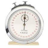 beiguoxia Inicio Suministros-Cronómetro, 60s 0.1s Cronómetro Mecánico Cronógrafo Física Instrumento de Laboratorio de Ayuda de Enseñanza